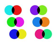 Правильные пары цветов